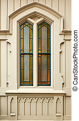 Simple Stained Church window