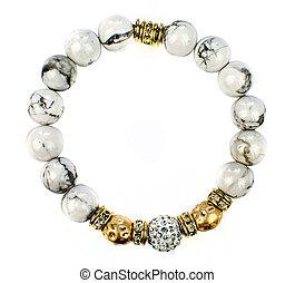bracelet jewellery isolated on white background