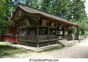 Japanese Hut - Mt Misen, Miyajima, Japan
