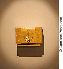 dourado, tabernáculo, igreja
