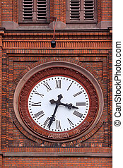 Big Church clock - Church clock at the Market Church in...
