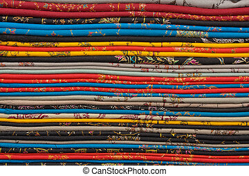 Fabric shop in India