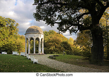 Temple on the Neroberg in Wiesbaden, Hesse, Germany