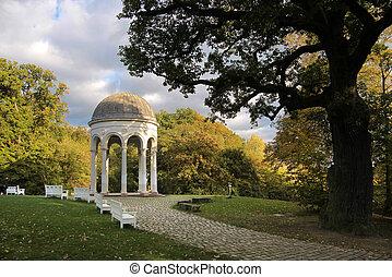 Temple on the Neroberg in Wiesbaden, Hesse, Germany