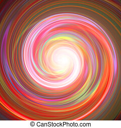 Spinning Vortex - A spiraling vortex background illustration...