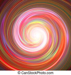 Spinning Vortex - A spiraling vortex background illustration...