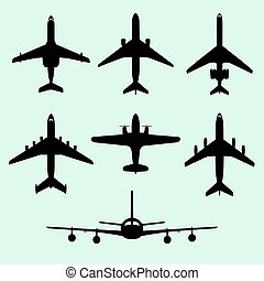 Airplanes - Set of airplanes
