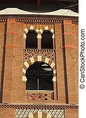 Detail of Bullring Arenas. Barcelona.