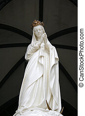 Mother Mary - Oura Church, Nagasaki, Japan