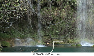 Kursunlu waterfall at Antalya Turkey