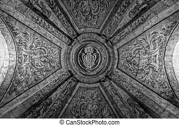 Vaulted Maltese Cross - Entering the Grandmasters' Palace in...