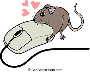 Love mouses - Creative design of love mouses