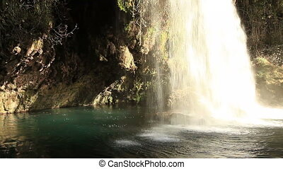 Duden waterfall at Antalya Turkey