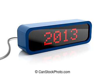 Led display of 2013 year