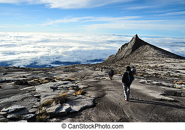 Mount Kinabalu, near Lows Peak, about 3900m