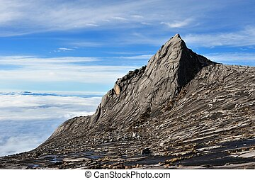 Mount Kinabalu, near Low's Peak, about 3900m.