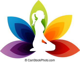 Yoga fitness - Vector - Yoga Concept