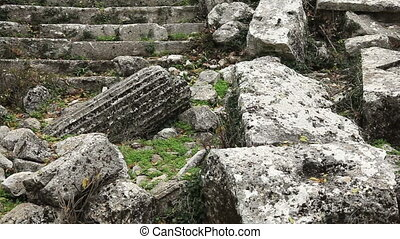 Apollo temple - Apollon temple ancient city of Termessos