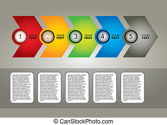 Communication concept - template with dialog box and copy...