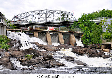 Bracebridge Waterfalls
