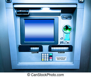 Automatic Teller Machine - ATM bank cash machine
