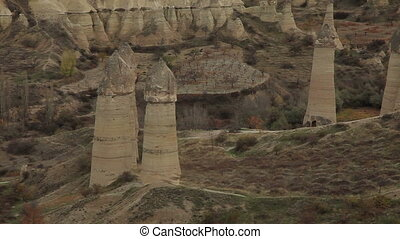 Famous city  Cappadocia in Turkey