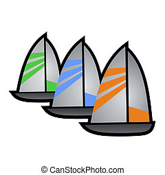 Sailing Ship - Creative design of sailing ship