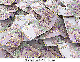 50000 colombian pesos, Financial Concept