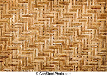 Background - bamboo weaving - Background - bamboo old...