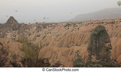 air balloon trips at  Cappadocia