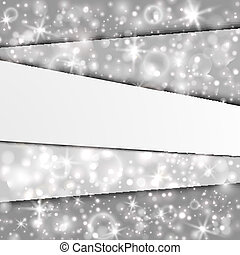 Abstract background with silver layers