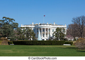 The White House in Washington DC , United States