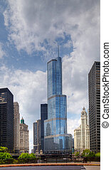 Trump International Hotel and Tower in Chicago - CHICAGO -...
