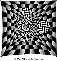 Checkerboard Abstract