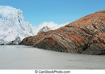 Beautiful mountain texture, El Calafate, Argentina