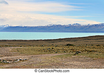 Nice view from El Calafate, Argentina