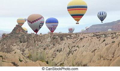 air balloon trip at Cappadocia Turk - The Hittites settled...