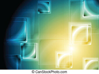 Vibrant tech design. Vector background