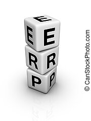 Enterprise Resource Planning ERP symbol - Enterprise...