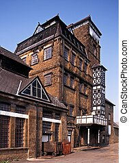 Victorian brewery, Hook Norton - Victorian Tower Brewery,...