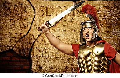romana, letras, textura