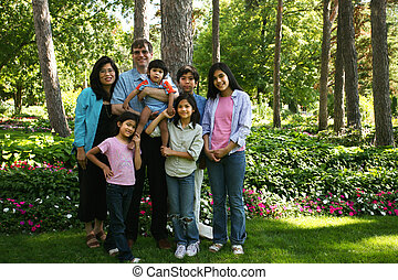 Large family of seven