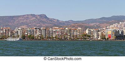 Cityscape of Karsiyaka Izmir, Turkey