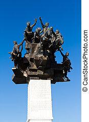 Izmir Gundogdu Monument, Turkey