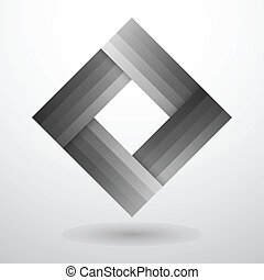 Abstract shape - Vector Logo, abstract shape. Business logo,...