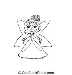 beautiful little fairy