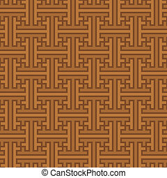 Vector background - seamless ethnic pattern from Indonesia -...