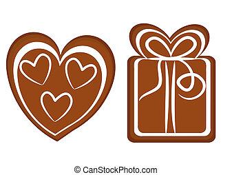 Christmas cookies - Gingerbread Christmas cookies