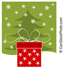 Christmas gift card - Christmas gift - holiday card