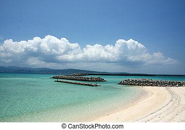 Paradise Beach - Iriomote Jima Island, Okinawa, Japan